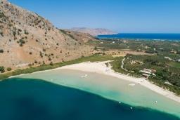 Ближайший пляж. Испания, Лансароте : Вилла с видом на море, с 2 спальнями, 2 ванными комнатами, кондиционерами, WiFi