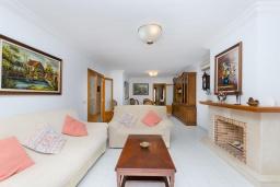 Студия (гостиная+кухня). Испания, Кан-Пикафорт : Просторное шале для 8 человек недалеко от пляжа