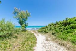 Территория. Испания, Кан-Пикафорт : Просторное шале для 8 человек недалеко от пляжа