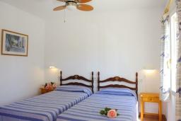 Спальня 2. Испания, Кала-д'Ор : Светлая уютная вилла с 4 спальнями, 4 ванными комнатами и собственным бассейном