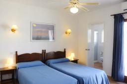 Спальня 3. Испания, Кала-д'Ор : Светлая уютная вилла с 4 спальнями, 4 ванными комнатами и собственным бассейном
