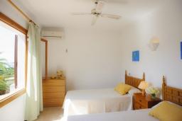 Спальня 3. Испания, Кала-д'Ор : Загородная вилла для отдыха на испанском острове Майорка, 3 спальни, 2 ванные комнаты, частный бассейн