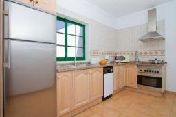 Кухня. Испания, Лансароте : Комфортабельная вилла с 3 спальнями, 2 ванными комнатами и собственным бассейном с подогревом.