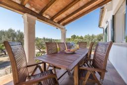 Терраса. Испания, Буньола : Усадьба с частным бассейном, садом и огромным пространством для 8 гостей