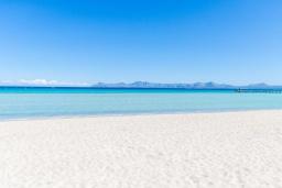 Пляж. Испания, Муро : Просторный таунхаус для отдыха 6-и гостей