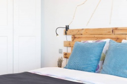 Испания, Санта-Крус-де-Тенерифе : Очаровательная светлая квартира с открытой террасой и видом на Атлантический океан, 2 спальни, 1 ванная комната, wi-fi