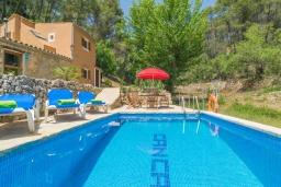 Бассейн. Испания, Андрайч : Очаровательный дом с частным бассейном и террасой