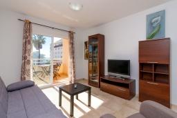 Гостиная / Столовая. Испания, Нерха : Прекрасный апартамент в 150 метрах от пляжа в комплексе с бассейном, с гостиной, двумя спальнями и балконом