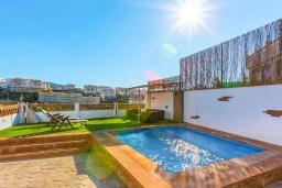 Бассейн. Испания, Торрокс : Небольшая комфортабельная вилла для двоих, 1 спальня, 1 ванная комната, частный бассейн, кондиционер, Wi-Fi.
