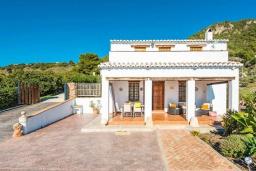Вход. Испания, Фрихильяна : Комфортабельная вилла в традиционном испанском стиле с 3 спальнями, 2 ванными комнатами, частным бассейном и видом на море