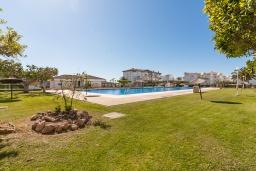 Территория. Испания, Торрокс : Прекрасные современные апартаменты в 100 метрах от пляжа и с прекрасным видом на море, 1 спальня, гостиная, ванная комната, Wi-Fi.