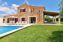 Вид на виллу/дом снаружи. Испания, Кала-д'Ор : Роскошная уединенная вилла для комфортного спокойного отдыха вдали от городской суеты, с 5 спальнями, 4 ванными комнатами и собственным бассейном.
