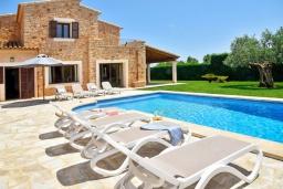 Бассейн. Испания, Кала-д'Ор : Роскошная уединенная вилла для комфортного спокойного отдыха вдали от городской суеты, с 5 спальнями, 4 ванными комнатами и собственным бассейном.