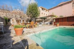 Вид на виллу/дом снаружи. Испания, Каймари : Уютная романтичная вилла со стильным интерьером, с 3 спальнями, 2 ванными комнатами и собственным бассейном.
