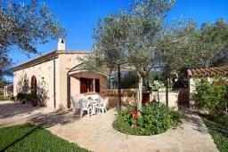 Вид на виллу/дом снаружи. Испания, Эс-Лломбардс : Живописная одноэтажная вилла, с 1 спальней, 1 ванной комнатой и собственным бассейном.