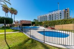Территория. Испания, Нерха : Превосходные апартаменты с кондиционером, бесплатным Wi-Fi и шикарным видом на зеленый сад недалеко от пляжей Эль-Плайясо и Плайя-де-Вильчеза, 1 спальня, 1 ванная комната, гостиная.