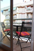 Балкон. Испания, Нерха : Двухкомнатная квартира с видом на город в Нерхе, в 350 м от пляжей  Торресилья и Эль-Салон и менее чем в 1 км от смотровой площадки «Балкон Европы», 1 спальня, 1 ванная комната, Wi-Fi.
