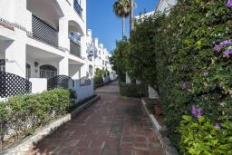 Территория. Испания, Нерха : Замечательные апартаменты с террасой и открытым бассейном в городе Нерха, в 800 м от пляжа Бурриана, 1 спальня, 1 ванная комната, бесплатный Wi-Fi.