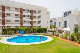 Бассейн. Испания, Нерха : Современный дом для отдыха с видом на горы и сад в городе Нерха, в 50 м от песчаного пляжа Playa Carabeo и в 200 м от пляжа Playa Burriana, 2 спальни, 1 ванная комната, бесплатный Wi-Fi.
