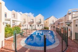 Территория. Испания, Нерха : Двухэтажный дом для отдыха с террасой и общим бассейном в центре Нерхи, в районе Парадор, в нескольких минутах от пляжа Бурриана, 2 спальни, 1 ванная комната, бесплатный Wi-Fi.