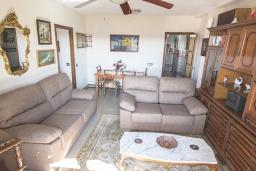 Гостиная / Столовая. Испания, Кордоба : Превосходные апартаменты в Кордове, в 15 минутах езды от мечети Кордовы и от дворца Мерсед, 3 спальни, 1 ванная комната, бесплатный Wi-Fi.
