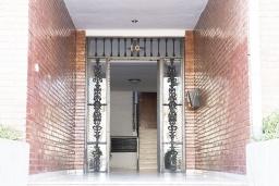 Вход. Испания, Кордоба : Превосходные апартаменты в Кордове, в 15 минутах езды от мечети Кордовы и от дворца Мерсед, 3 спальни, 1 ванная комната, бесплатный Wi-Fi.