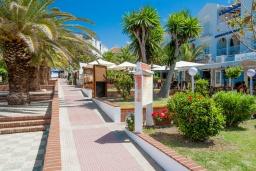 Вход. Испания, Нерха : Современные двухкомнатные апартаменты с видом на море и горы площадью 40 кв.м. в непосредственной близости от пляжа TORRECILLA, 1 спальня, 1 ванная комната, Wi-Fi.