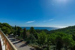 Вид на море. Испания, Бланес : Красивая вилла с 3 спальнями из которых открывается потрясающий вид на Средиземное море и сосновый лес, с 3 ванными комнатами и частным бассейном, оборудована кондиционерами, спутниковым телевидением и лифтом.