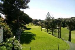 Зелёный сад. Испания, Фуэнхирола : Просторный дом для отдыха с бассейном, террасами и балконом на курорте Михас-Коста, в 1,1 км от пляжа Плайя-де-Калахонда и в 1,5 км от пляжа Плайя-де-Калаонда, 3 спальни, 2 ванные комнаты, зеленый сад, Wi-Fi.
