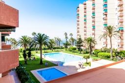 Территория. Испания, Альмуньекар : Фантастические апартаменты на берегу моря в Альмуньекаре с бассейном, теннисным кортом, открытой парковкой и WIFI, 2 спальни, ванная комната, терраса 5 кв.м.