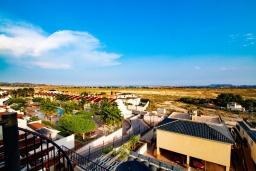 Вид на море. Испания, Мучамель : Светлая и просторная квартира расположена всего в паре минут езды от уютного городка Мучамель, имеет 3 спальни, 2 ванные комнаты и террасу на крыше с видом на Средиземное море