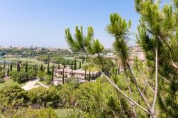 Вид на виллу/дом снаружи. Испания, Бенаавис : Шикарные апартаменты с общим и детским бассейнами, экзотическим садом, круглосуточной охраной и крытой парковкой в Бенаависе на склоне холма, в нескольких минутах езды от Марбельи и Пуэрто-Бануса, 2 спальни, 2 ванные комнат, Wi-Fi.
