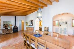 Гостиная / Столовая. Испания, Капдепера : Впечатляющая вилла с бассейном и садом