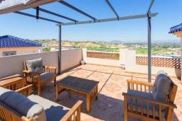 Терраса. Испания, Сьюдад Кесада : Прекрасный 2-спальный таунхаус с большой ванной комнатой и прекрасным видом на поле для гольфа