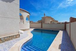 Бассейн. Испания, Сьюдад Кесада : Идеальная вилла для отдыха на Коста Бланка, в нескольких минутах езды от всех удобств и потрясающих пляжей, с 3 спальнями, 1 ванной комнатой и частным бассейном.