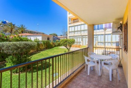 Балкон. Испания, Плайя Фламенка : Очаровательная 2х комнатная квартира, недалеко от пляжа, и всех местных удобств