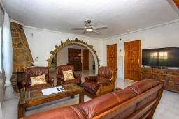 Гостиная / Столовая. Испания, Сьюдад Кесада : Красивая вилла в средиземноморском стиле для отдыха на Коста Бланка, 2 спальни, 2 ванные комнаты и частный бассейн