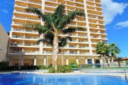 Вид на виллу/дом снаружи. Испания, Кальпе : Квартира с видом на море и общими бассейнами, в непосредственной близости от пляжа в Кальпе, с 2 спальнями и 2 ванными комнатами
